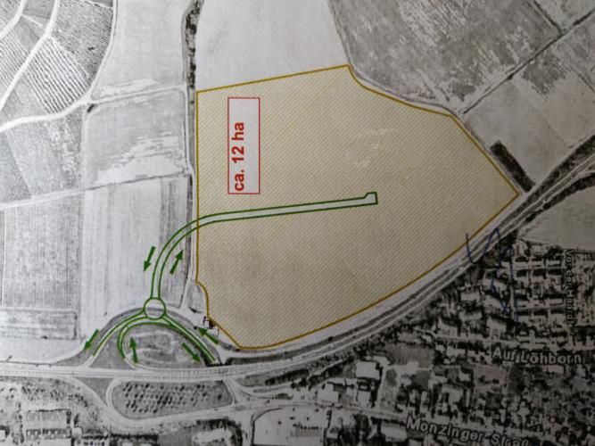 Kein neues Gewerbe- oder Industriegebiet nördlich der B41