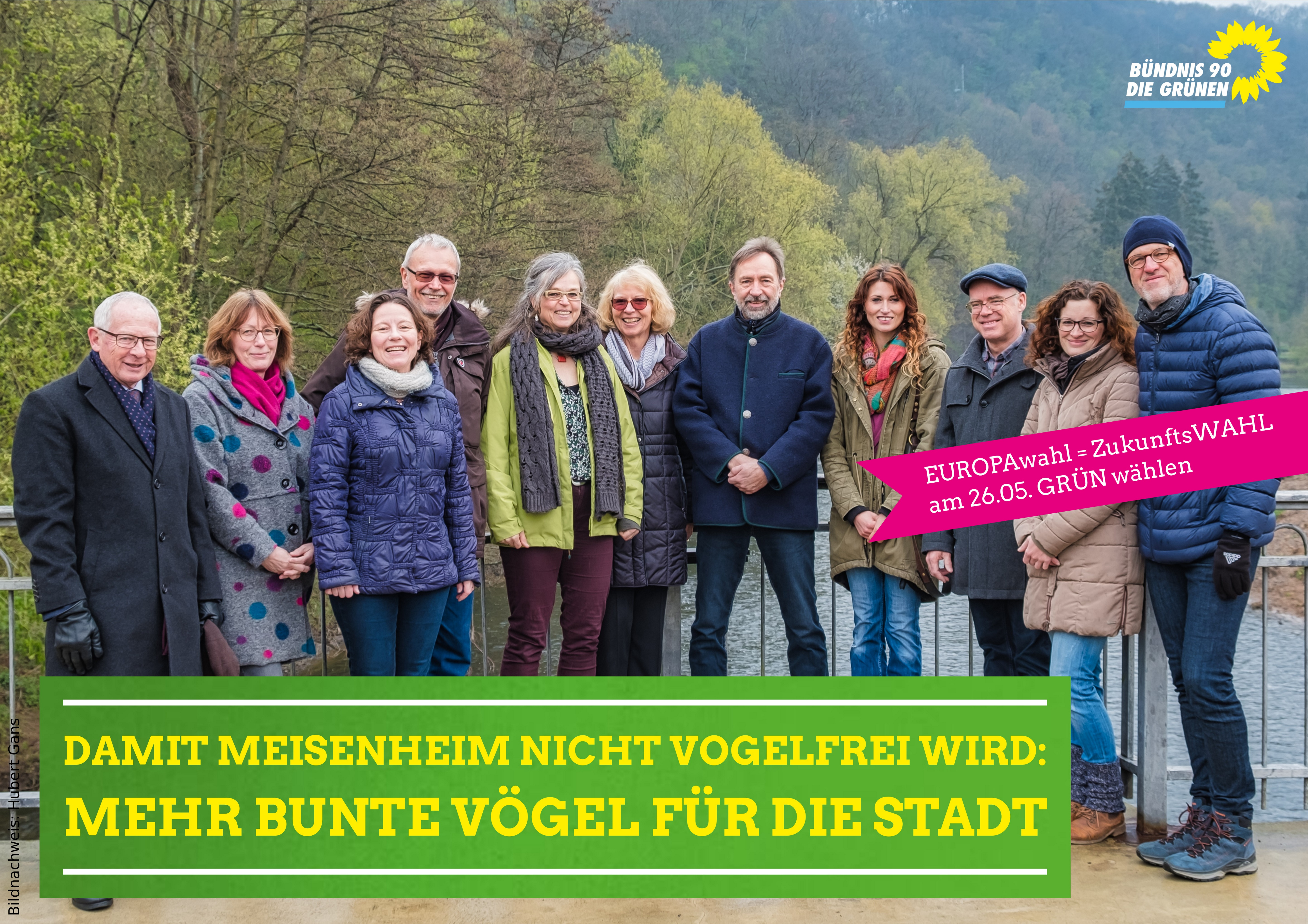 Unsere Kandidatinnen und Kandidaten für den Stadtrat in Meisenheim